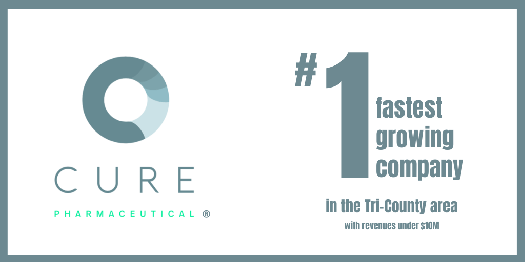 CURE named #1 Fastest Growing Company in the Tri-Counties