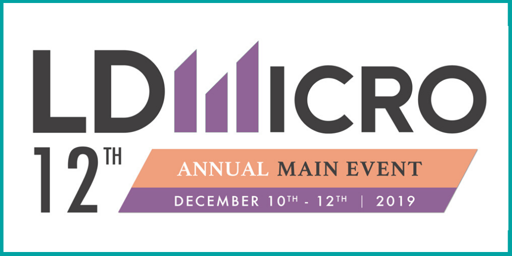 CURE Pharmaceutical to Present at the 12th Annual LD Micro Main Event Investor Conference