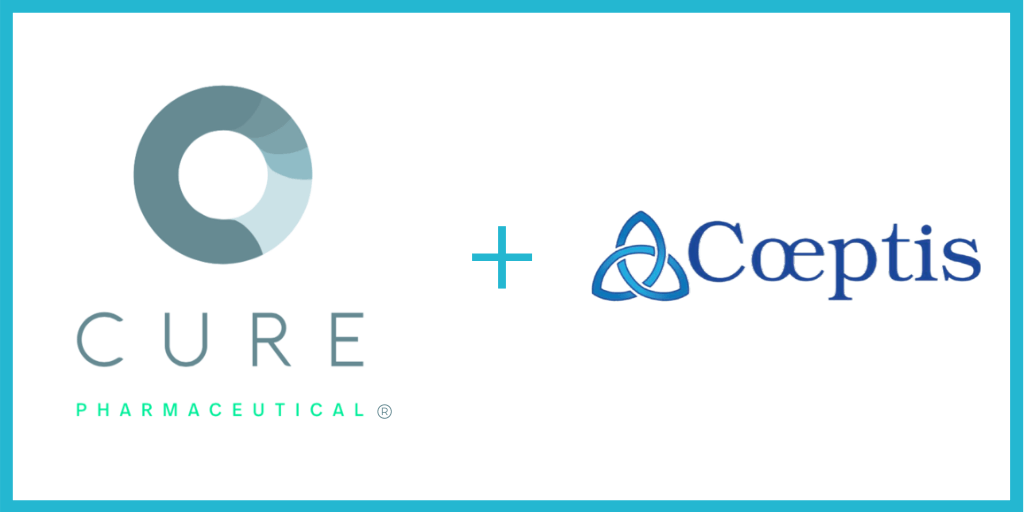 CURE Pharmaceutical Takes First Step to Acquire Coeptis Pharmaceuticals and its Combination Drug for Osteoarthritis Pain and Hypertension