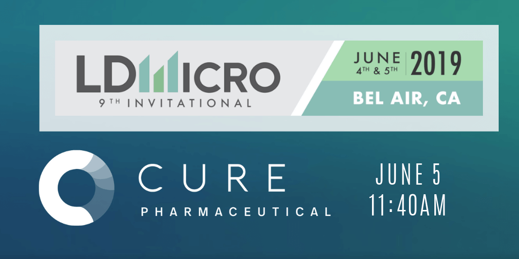 CURE Pharmaceutical to Present at the 9th Annual LD Micro Invitational