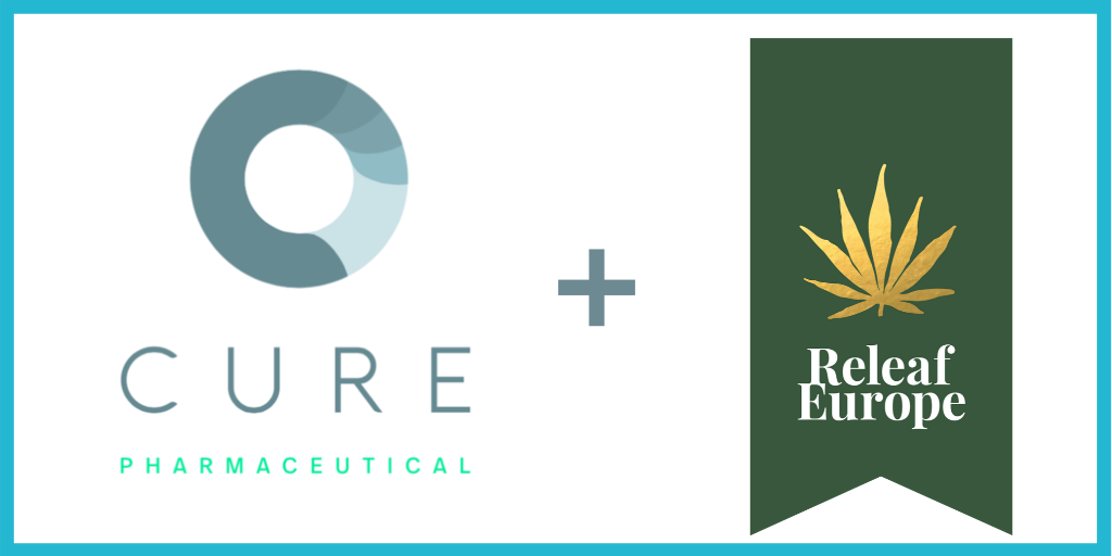 CURE Pharmaceutical Expands to Europe, Signs Licensing Agreement with ReLeaf Europe to Provide Advanced Cannabinoid Delivery
