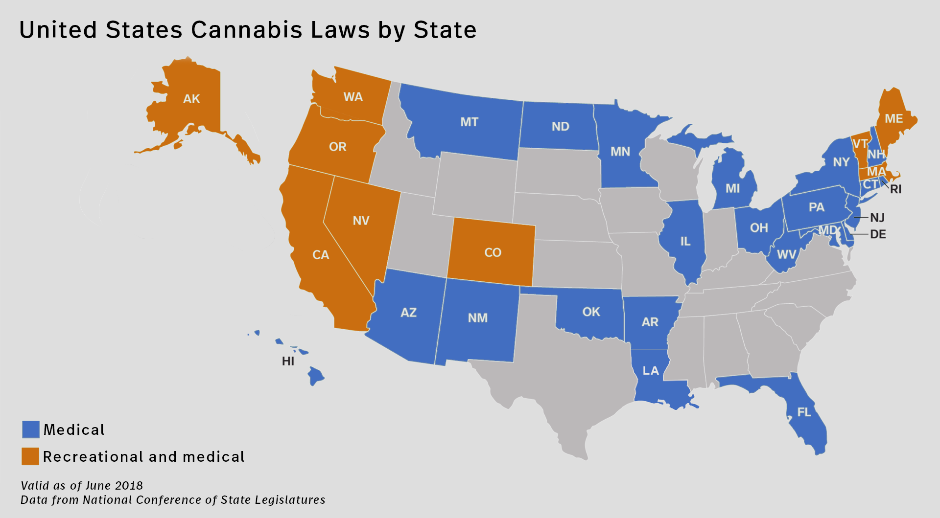 Cannabis Legalization in the United States: An Overview